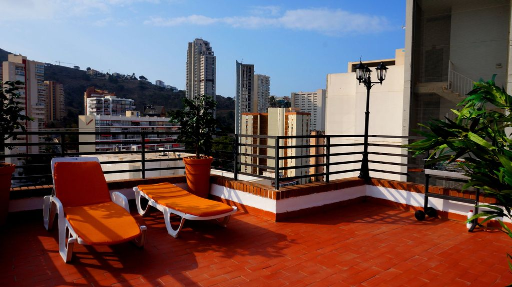 Exclusive With Private Terrace 60 M2 Wifi Free Parking Bbq Benidorm