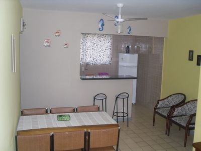 Photo for Cozy apartment just 150 mtrs from Praia Grande.