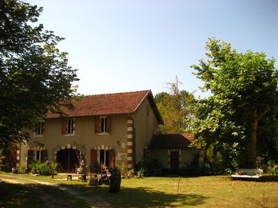 Photo for Chaton, Gite, fresh air et great art, 10 min from the Landes beaches