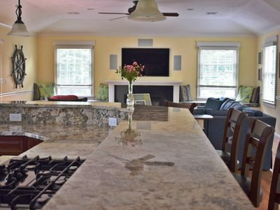 Photo for Spacious New Wellfleet Home on 1 1/2 acres ~ Steps to the bay ~ Walk to town