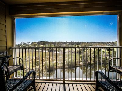 Photo for Available August 22-29-Walk to Beach-Private Ocean-Marsh-Lagoon & Golf View