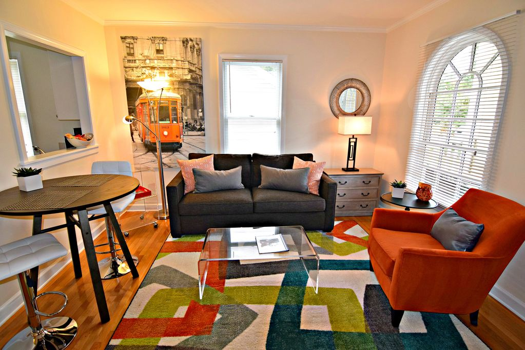 Furnished Apartment Near Bank Of America Stadium And Center City Charlotte