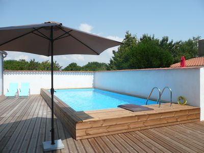 Photo for House center tremblade with private pool