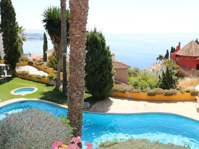 Photo for Charming idyllic house with sea views in stunning surroundings
