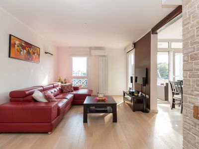 Photo for Luxury apartment is perfectly located for families and young people near beachs!