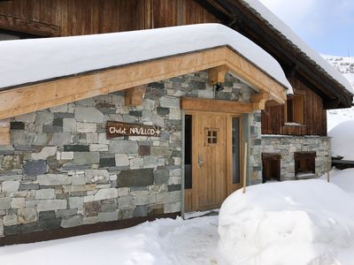 Photo for Apartment in the Chalet La Carline, sleeps 8
