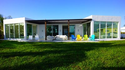 Photo for Beachfront Stunning Villa on the best beach with turquoise water and white sand!