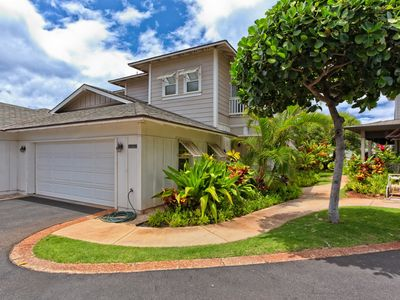 Photo for Luxurious 3 Bedroom, 3 Bath Townhome with 2 Car Garage in Ko Olina's Coconut Plantation