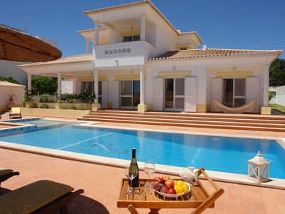 Photo for Luxury Villa, private swimming pool only 300 meters to the center of town