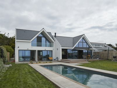 Photo for Villa with pool, ocean view