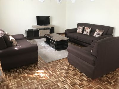 Photo for CHARMING AND EXCLUSIVE APARTMENT WESTLANDS NAIROBI-hosted by valentine