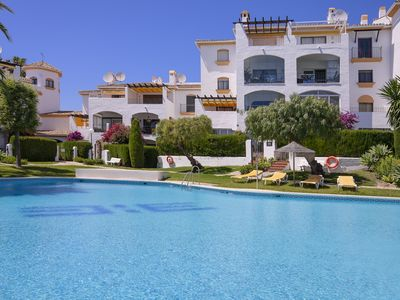 Photo for Fantastic apartment,  spectacular view, walking distance Puerto Banus and beach!