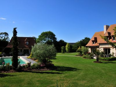 Photo for Exceptional Property, Views On The Countryside And On The Sea,10' From Deauville