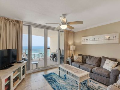 Photo for Free Beach Service! Free WiFi Great location just minutes from Pier Park! Gulf Front Bedroom.