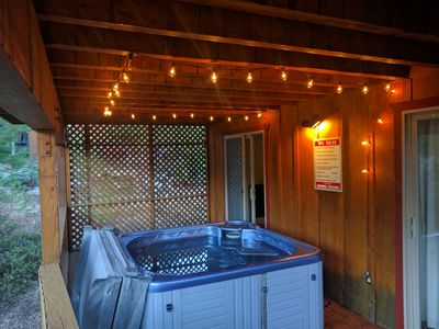 Photo for Private 3BR Northwoods Chalet