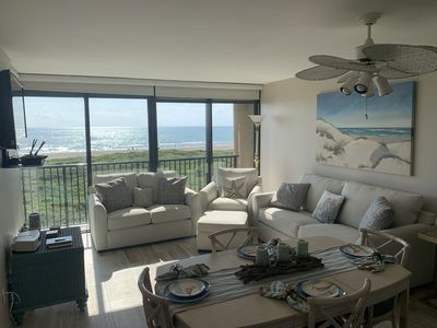 Photo for A Restful Vacation with our Mesmerizing Beachfront View! REMODELED