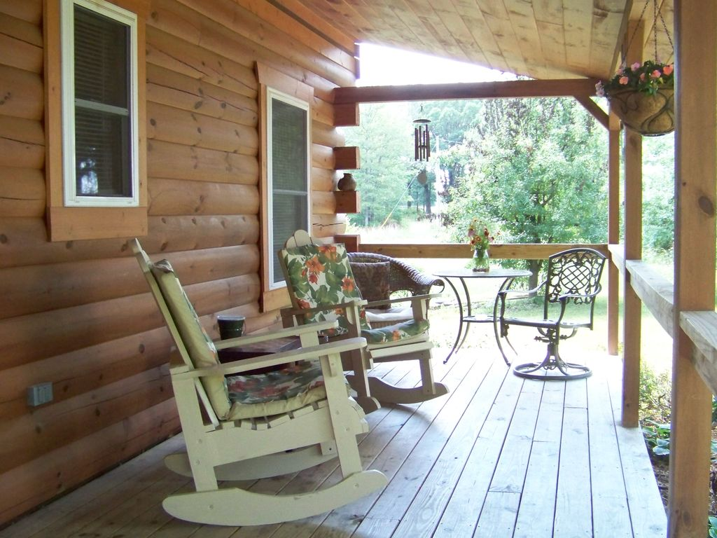 Property Image#9 Jacku0027s Log Cabin Near Meramec River In Quiet Wooded  Setting With Hot