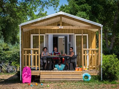 Photo for Camping Le Bois d'Amour *** - Palma 3-room mobile home 4/6 people