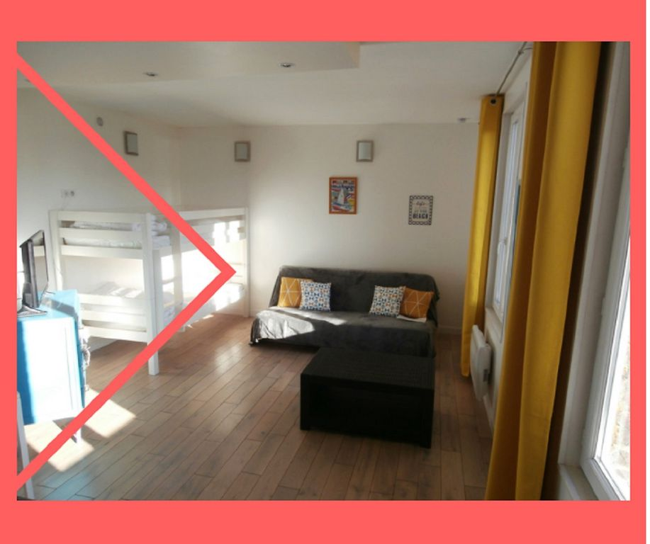 DIEPPE, 4 person, 30m2 TERRACE, WIFI, included, Shops