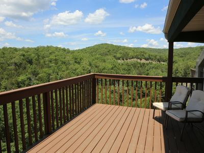 Photo for Condo with Pool   Hot Tub   Free WiFi  Top Unit   Lake Views   2.2 miles from Silver Dollar City (0
