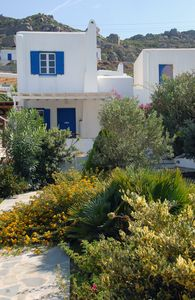 Photo for Modern Cycladic villa with 2 bedrooms, 60 meters from the sea.