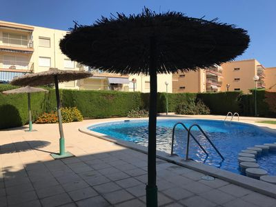 Photo for Cambrils Park III apartment in Cambrils with private parking, shared terrace, shared garden, balcon…