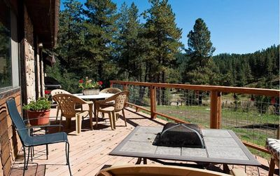 Photo for Secluded Mountain Retreat - Deck - Fire Pit - Shared Hot Tub