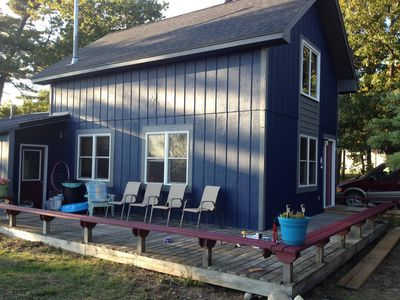Photo for Freesoil Blue House a convenient Beaver Island location