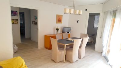 Photo for Homerez last minute deal - Nice apt with pool access