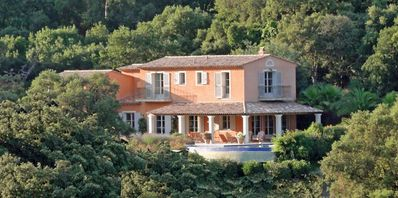 Photo for ARCHITECT VILLA ON THE HILLS OF GOLF OF ST TROPEZ
