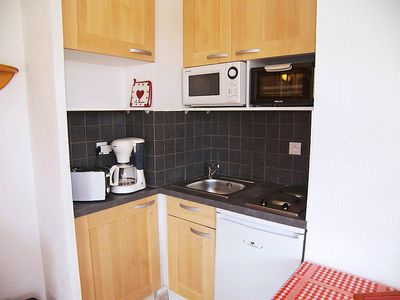 Photo for Apartment in Fontcouverte-la-Toussuire with Parking, Internet, Balcony (111995)