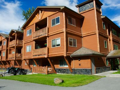 Photo for THE HIGHTOWER SUITE- A Luxury top floor Condo in the Center of Girdwood/Alyeska!