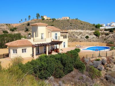 Photo for Villa Pikorua is a luxurious private home set in the mountains near to Mojacar.