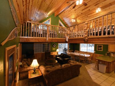 Photo for *New Listing*  Ponca Inn I Cabin in the Woods I Close to Yellowstone I Sleeps 10