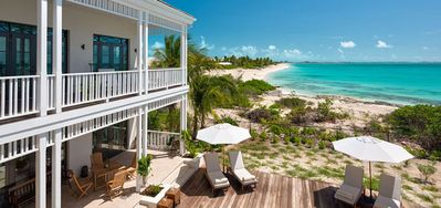 Photo for Villa Saving Grace  -  Beach Front - Located in  Wonderful Grace Bay with Private Pool