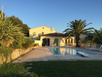 Photo for Spacious Villa with grand views of Sea and Mountains !