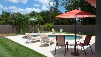 Photo for Newly Resurfaced , Heated Pool in Naples Park - Summer Sale!