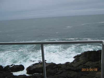 Photo for Deluxe Oceanfront Penthouse - #49 - Whales -  Pool - Hot Tub - WiFi