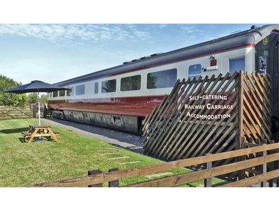 Photo for CONVERTED RAILWAY CARRIAGE, family friendly in Hawsker, Ref 3877
