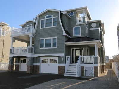 Photo for BRAND NEW - Oceanside - 6 BR - Sleeps 12+ - Only 4 houses to beach - Elevator