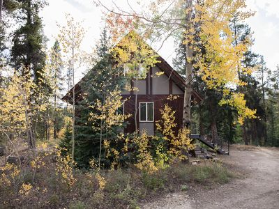Photo for Modern Cabin Retreat - Steps from the Blue River