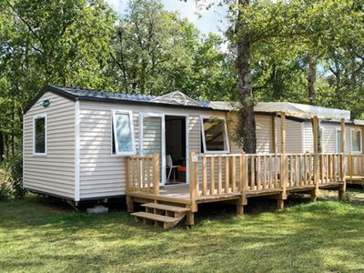 Photo for Camping Les Chèvrefeuilles **** - Mobil Home 3 Rooms 4 People
