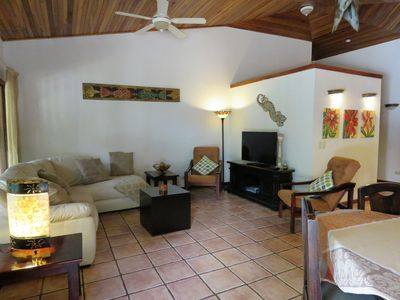 Photo for Jungle, Wildlife abundant, quiet neighborhood, Gated, Two Independent Villas