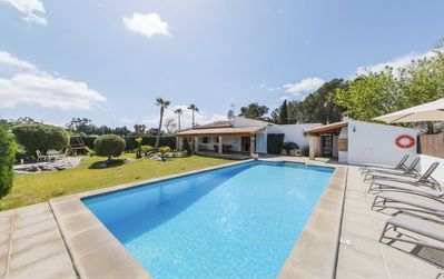 Photo for Wonderful family villa with private pool walking distance to Puerto Pollensa town and beach