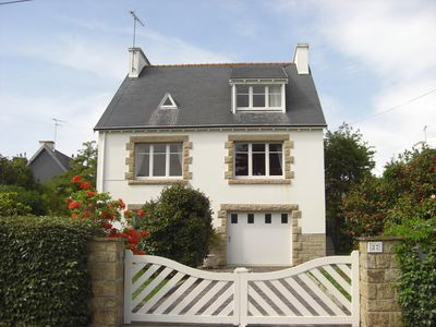Photo for 100 m from the beach, nice house on the sea, small sea view
