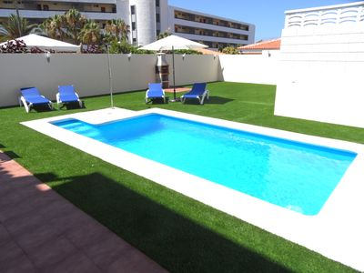 Photo for FABULOUS DUPLEX C9 IN CALLAO SALVAJE, PRIVATE POOL AND CAR INCLUDED !!!
