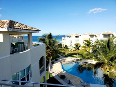 Photo for ULTIMATE BEACH FRONT PENTHOUSE WITH STUNNING VIEWS OF JOBOS BEACH AND POOL!!!!