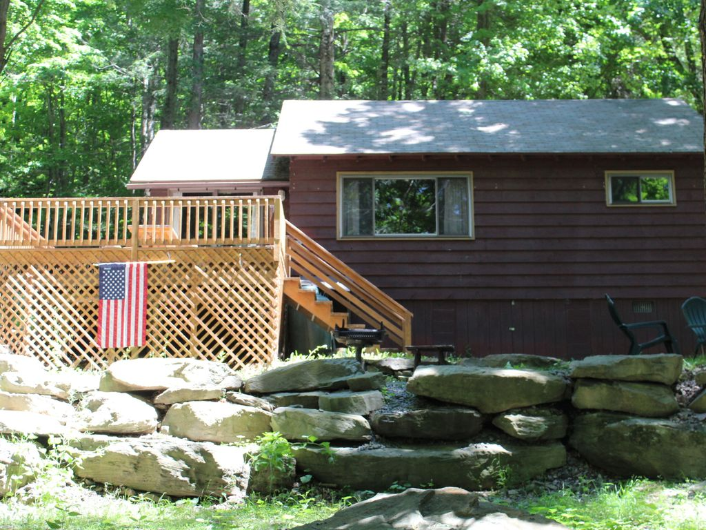 lakeside chalet 3 with boat dock vrbo