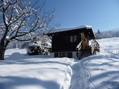 Photo for INDIVIDUAL CHALET THE SLOPES AND SKI AREA THE PRINCESS