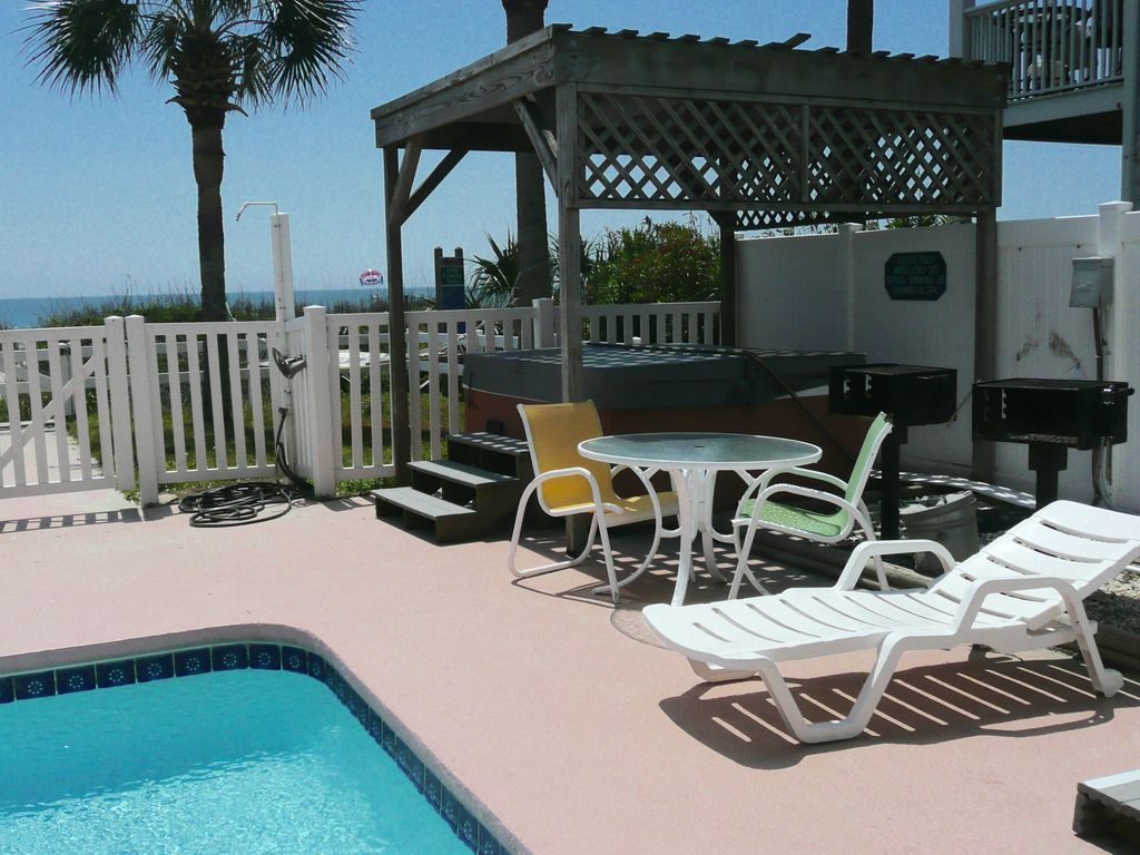 Luxury Oceanfront 8 Bed Home W Private Pool Hot Tub Winston Salem North Carolina